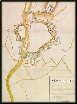 plan of siege;  belegeringsplattegrond