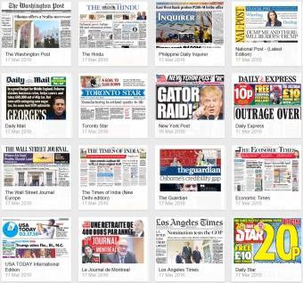 pressreader international newspapers